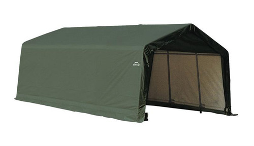 ShelterLogic ShelterCoat 13 x 20 x 10 ft. Garage Peak Green Cover