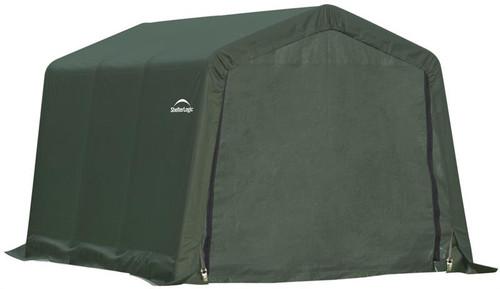 ShelterLogic ShelterCoat 8 x 12 x 8 ft. Garage Peak Green Cover