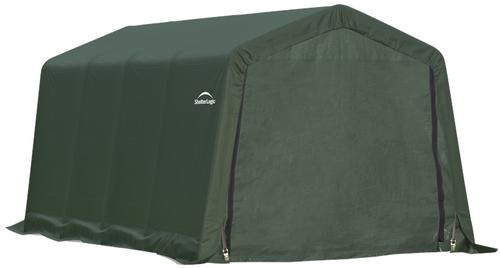 ShelterLogic ShelterCoat 8 x 16 x 8 ft. Garage Peak Green Cover