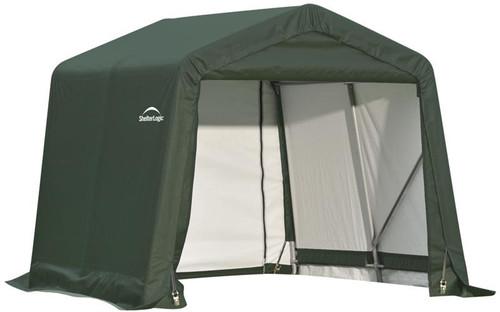 ShelterLogic ShelterCoat 8 x 8 x 8 ft. Garage Peak Green Cover