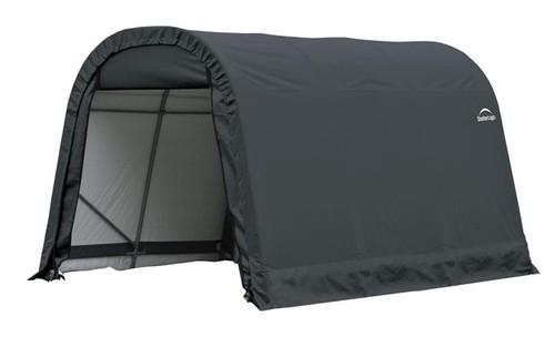 ShelterLogic ShelterCoat 9 x 12 x 10 ft. Round Style Shelter Gray Cover