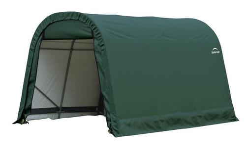 ShelterLogic ShelterCoat 9 x 12 x 10 ft. Round Style Shelter Green Cover