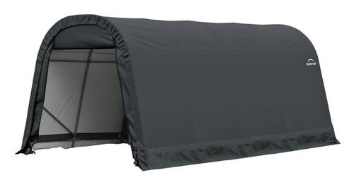ShelterLogic ShelterCoat 9 x 16 x 10 ft. Round Style Shelter Gray Cover