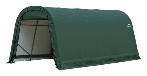 ShelterLogic ShelterCoat 9 x 16 x 10 ft. Round Style Shelter Green Cover