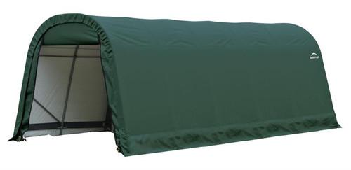 ShelterLogic ShelterCoat 9 x 20 x 10 ft. Round Style Shelter Green Cover