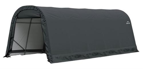ShelterLogic ShelterCoat 9 x 20 x 10 ft. Round Style Shelter Gray Cover