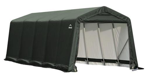 ShelterLogic ShelterCoat 9 x 20 x 10 ft. Peak Style Shelter Green Cover