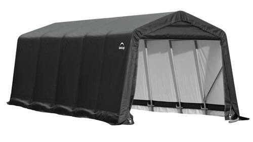 ShelterLogic ShelterCoat 9 x 20 x 10 ft. Peak Style Shelter Gray Cover
