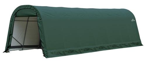 ShelterLogic ShelterCoat 9 x 24 x 10 ft. Round Style Shelter Green Cover