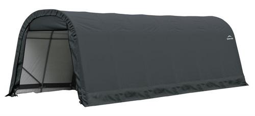 ShelterLogic ShelterCoat 9 x 24 x 10 ft. Round Style Shelter Gray Cover