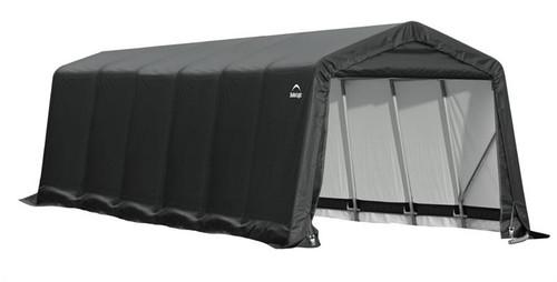 ShelterLogic ShelterCoat 9 x 24 x 10 ft. Peak Style Shelter Gray Cover