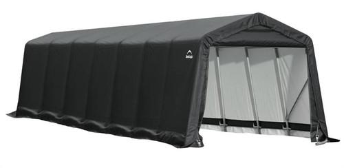 ShelterLogic ShelterCoat 9 x 28 x 10 ft. Peak Style Shelter Gray Cover