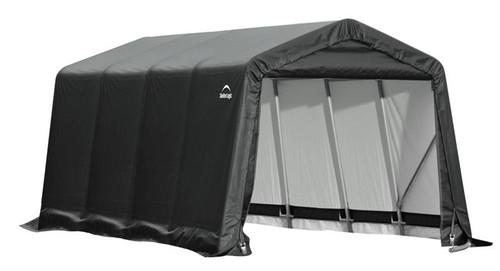 ShelterLogic ShelterCoat 9 x 16 x 10 ft. Peak Style Shelter Gray Cover