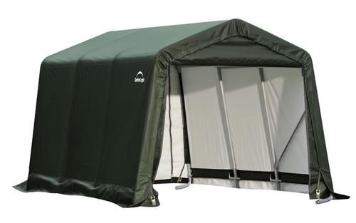 ShelterLogic ShelterCoat 9 x 16 x 10 ft. Peak Style Shelter Green Cover