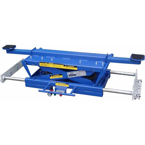 Tuxedo RAJ-8K-H Rolling Air Jack 8,000 lb. Capacity - On The Rail - Air Bag - High Mount