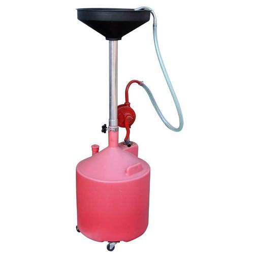 Tuxedo 18 Gallon Oil Drain w/Pump