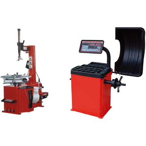 Tuxedo TC-530 Tire Changer / WB-953 Wheel Balancer Combo Package