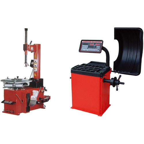 Tuxedo TC-950 Tire Changer / WB-953 Wheel Balancer Combo Package