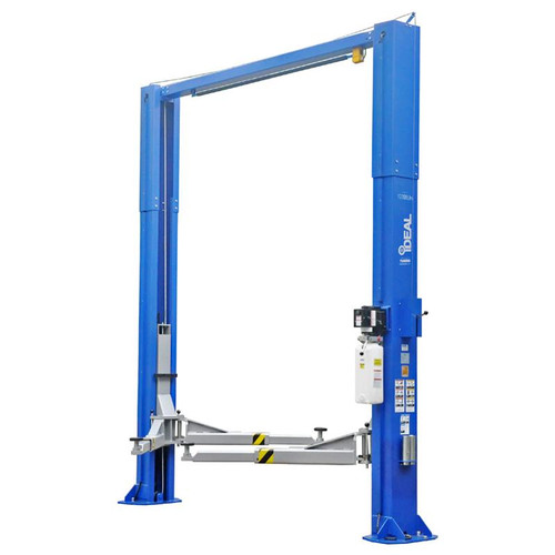 iDEAL TP12KSC-DX 12,000 lb. ALI Certified Heavy Duty 2-Post Symmetric Clear Floor Lift