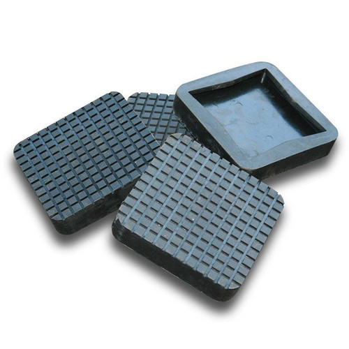 BendPak Rubber Lift Pad / Slip-Over / Square / SET OF 4