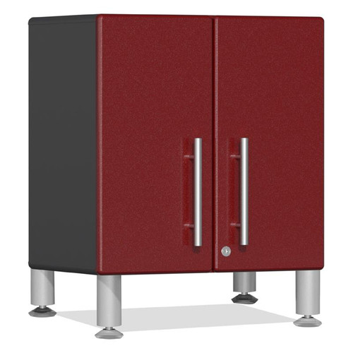 Ulti-MATE Garage 2.0 Series Red Metallic 2-Door All-Purpose Base Cabinet