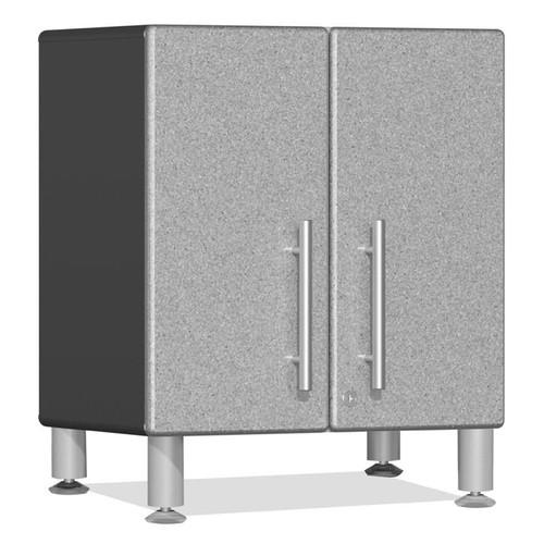 Ulti-MATE Garage 2.0 Series Silver Metallic 2-Door All-Purpose Base Cabinet