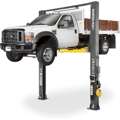 "BendPak XPR-10AXLS-181 10,000 Capacity ALI Certified Asymmetric, Adjustable Width, Screw Pads, 181"" Height"