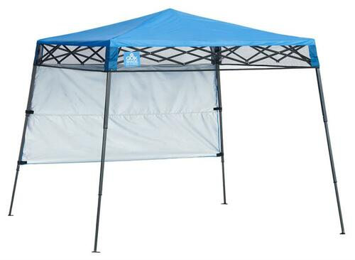 Quick Shade Go Hybrid 6 x 6 ft. Slant Leg Canopy - Regatta Blue