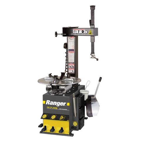 "Ranger R745 Tire Changer / Swing Arm / 21"" Capacity - Yellow/Gray"