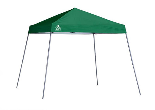 Quik Shade Expedition EX64 10 x 10 ft. Slant Leg Canopy - Green