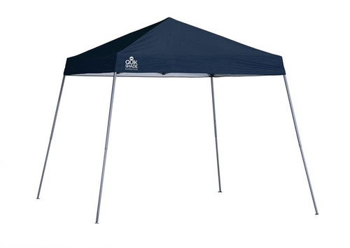 Quik Shade Expedition EX64 10 x 10 ft. Slant Leg Canopy - Midnight Blue