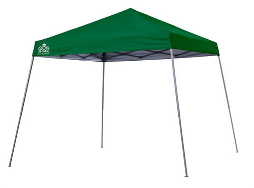 Quick Shade Expedition EX81 12 x 12 ft. Slant Leg Canopy - Green