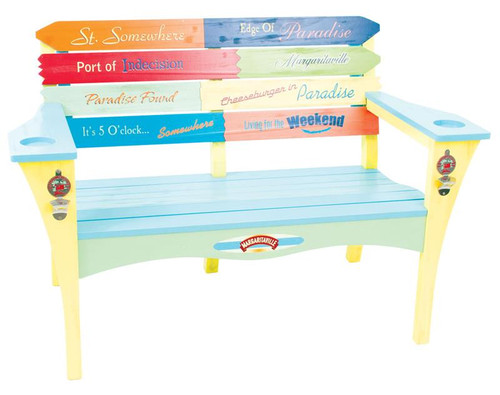 Margaritaville Garden Bench - Southern Most Point