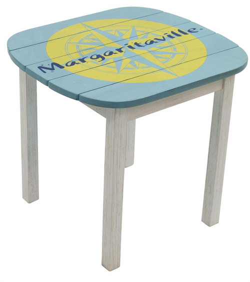 Margaritaville Adirondack Side Table - Nautical Compass
