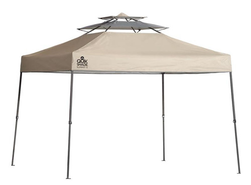 Quick Shade Summit SX100 10 X 10 ft. Straight Leg Canopy - Taupe