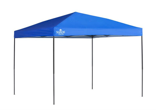 Quick Shade ST100 10 x 10 ft. Straight Leg Canopy - Blue