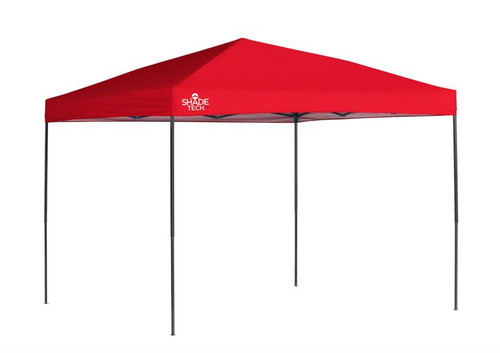 Quick Shade ST100 10 x 10 ft. Straight Leg Canopy - Red