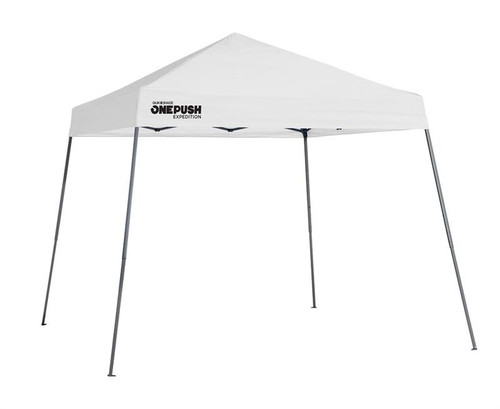 Quick Shade Expedition EX64 One Push 10 x 10 ft. Slant Leg Canopy - White