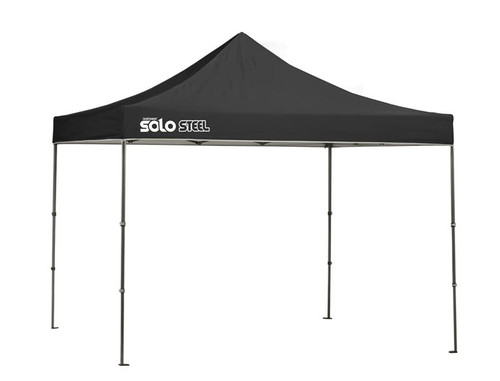 Quick Shade Solo Steel 100 10 x 10 ft. Straight Leg Canopy - Black
