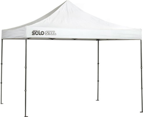 Quick Shade Solo Steel 100 10 x 10 ft. Straight Leg Canopy - White