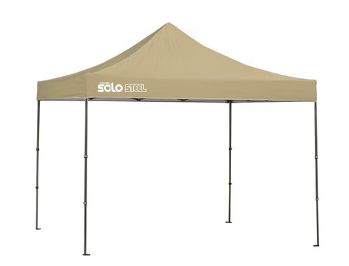 Quick Shade Solo Steel 100 10 x 10 ft. Straight Leg Canopy - Khaki