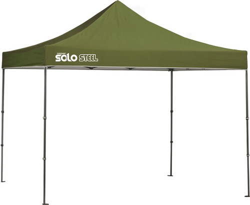 Quick Shade Solo Steel 100 10 x 10 ft. Straight Leg Canopy - Olive