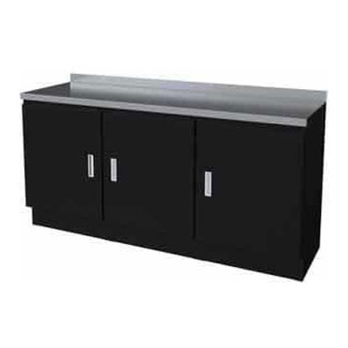 Moduline Select Series 4-Piece Garage Cabinet Set - Black