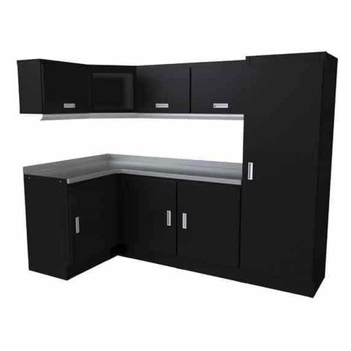 Moduline Select Series 11-Piece Garage Cabinet Set - Black