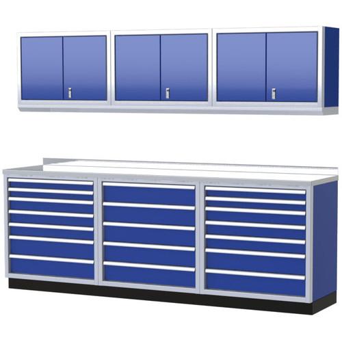 Moduline PRO II Series 7-Piece Garage Cabinet Set PGC009-08X