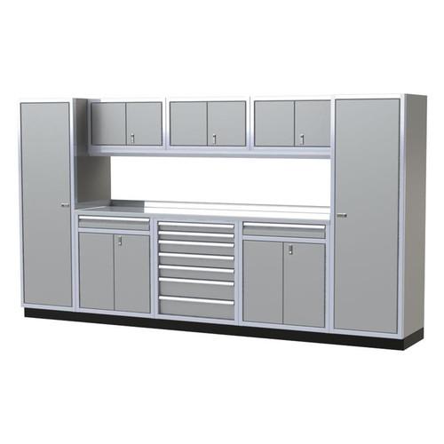 Moduline PRO II Series 9-Piece Garage Cabinet Set PGC012-02X