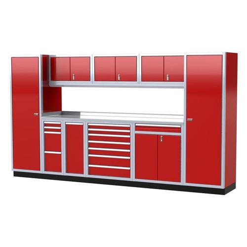Moduline PRO II Series 10-Piece Garage Cabinet Set PGC012-03X