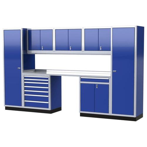 Moduline PRO II Series 9-Piece Garage Cabinet Set PGC012-07X