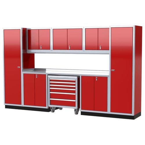 Moduline PRO II Series 10-Piece Garage Cabinet Set PGC012-10X