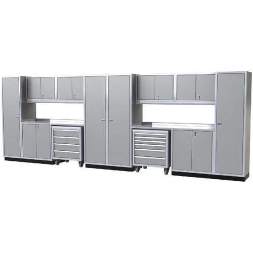 Moduline PRO II Series 16-Piece Garage Cabinet Set PGC020-05X